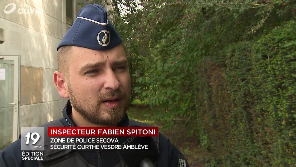Émotion dans un commissariat de la région liégeoise
