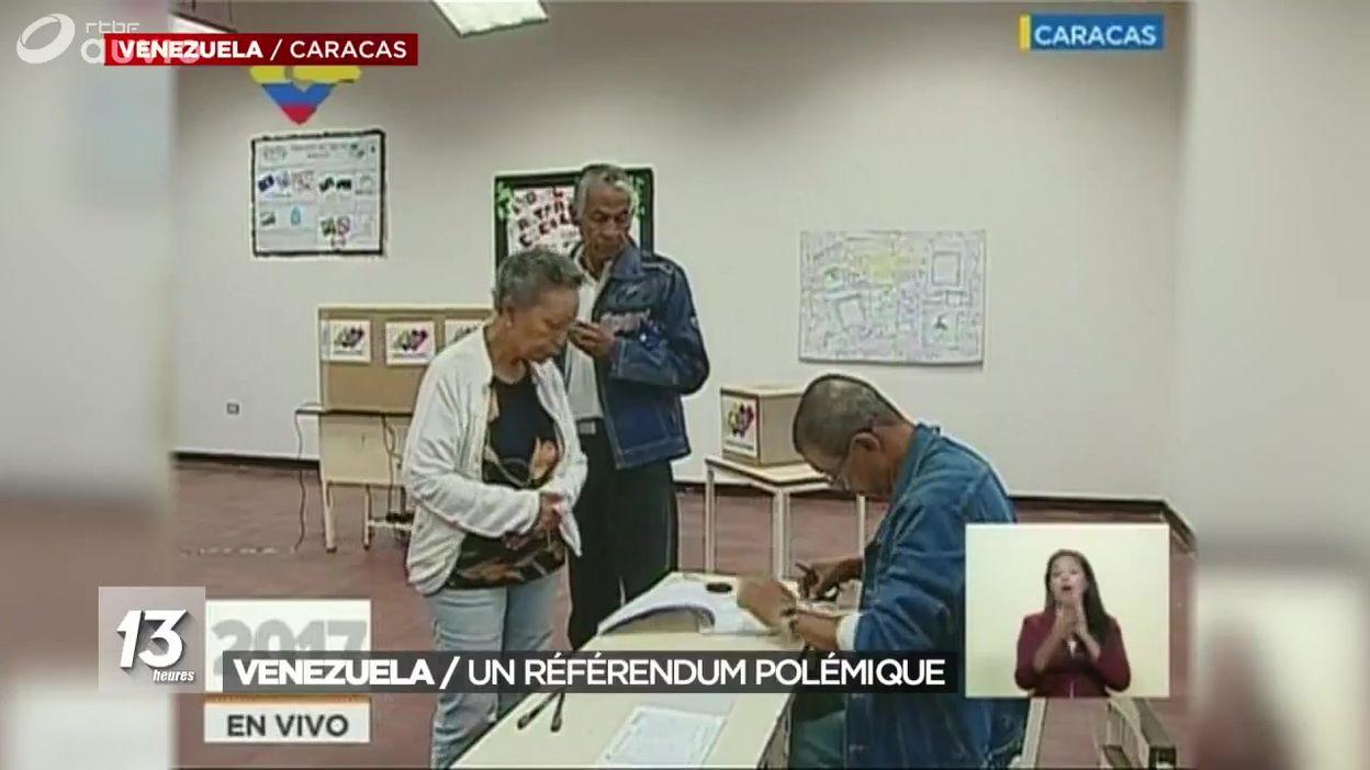 Ouverture des bureaux de vote au venezuela jt 13h 30 07 2017