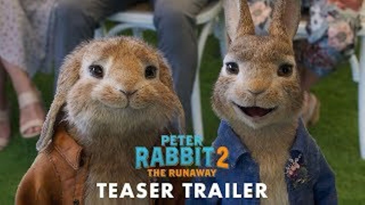 PETER RABBIT 2 : PANIQUE EN VILLE - Teaser Trailer - FR