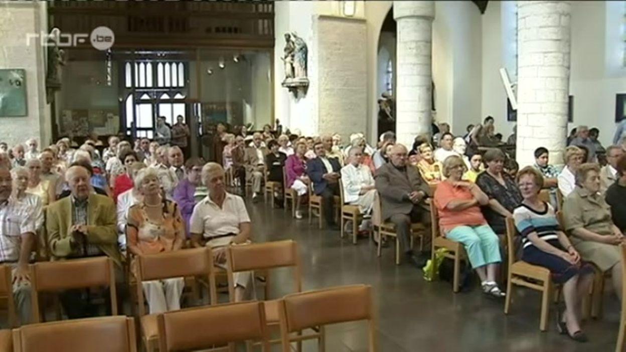 Bénédiction de Saint-Christophe à Hannut