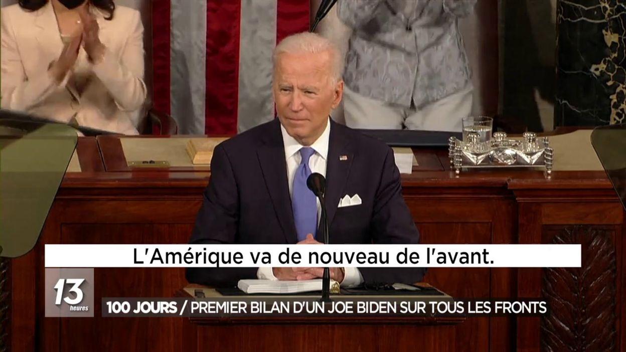 100 jours : Premier bilan d un Joe Biden sur tous les fronts
