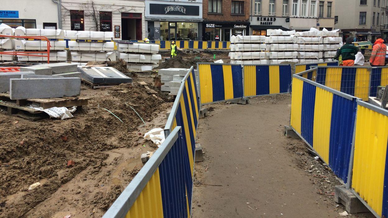 Les commerçants bruxellois indemnisés en cas de travaux