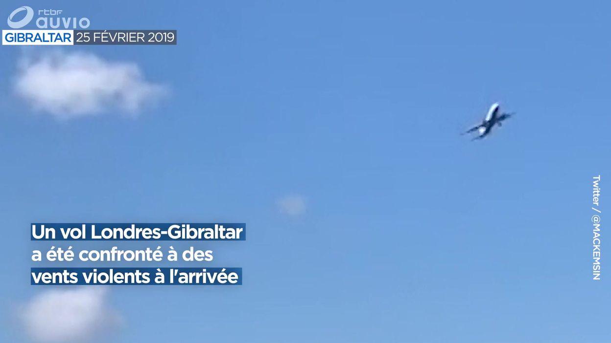 Un avion de ligne affronte des vents violents en Espagne - 27/02/2019