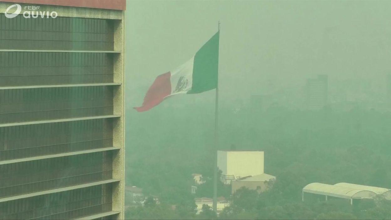 Mexico sous un épais nuage de pollution