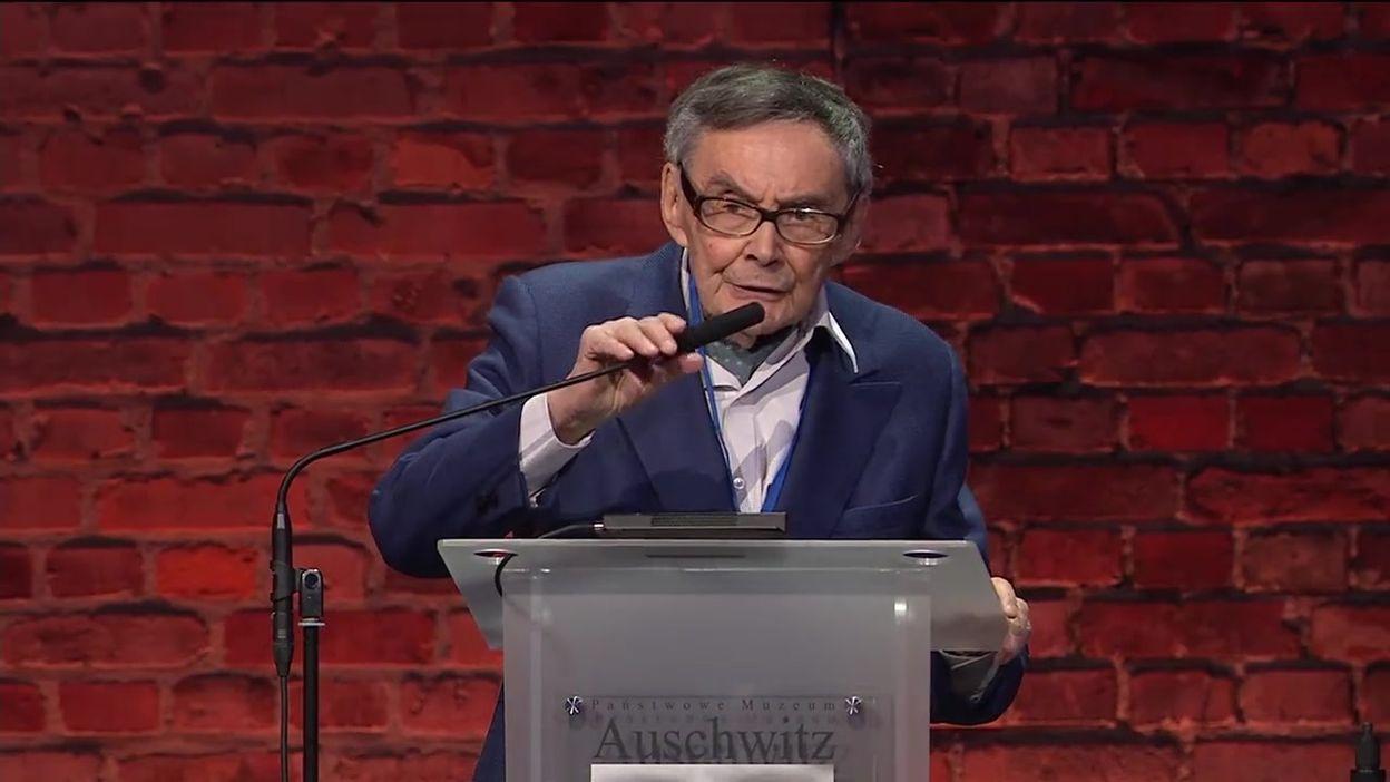 75 ans de la libération d'Auschwitz-Birkenau: témoignage de Marian Turski, rescapé