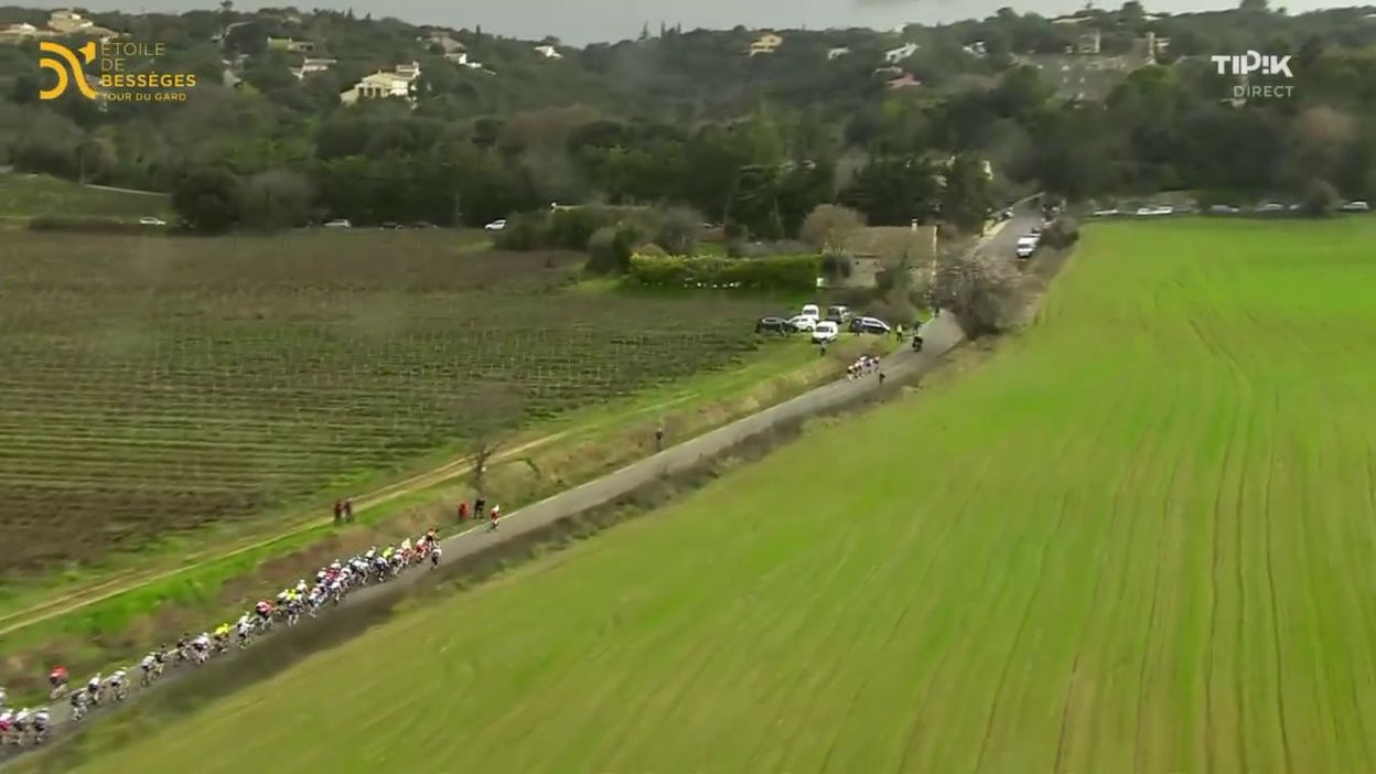 Etoile de Bessèges : Un grand Filippo Ganna remporte la 4e étape, Tim Wellens reste en tête du général