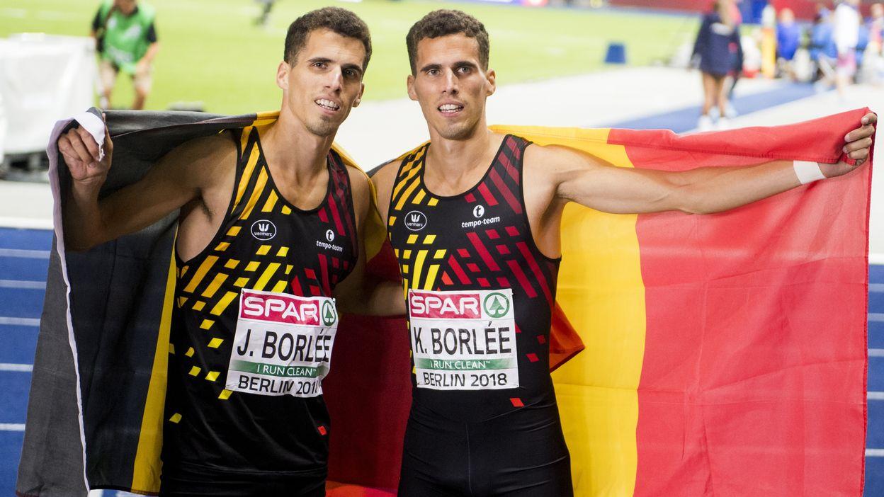 Les jumeaux Borlée montent tous les deux sur le podium du 400m