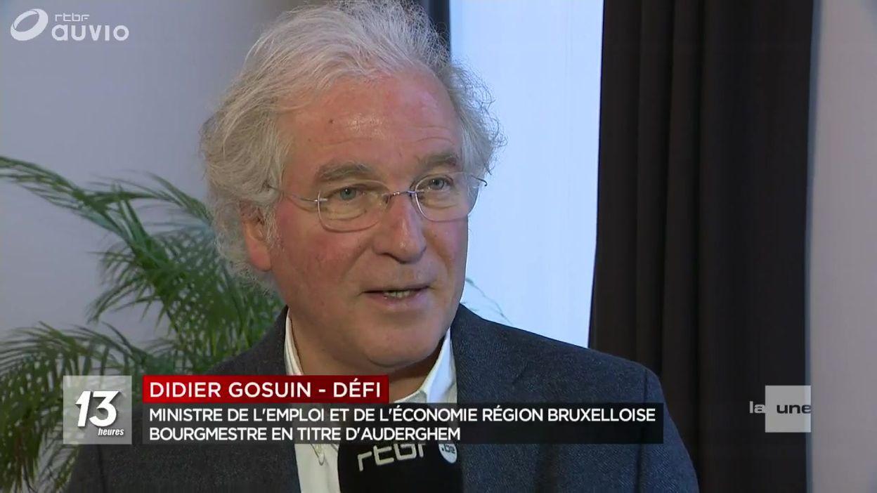 Didier Gosuin annonce son retrait de la politique