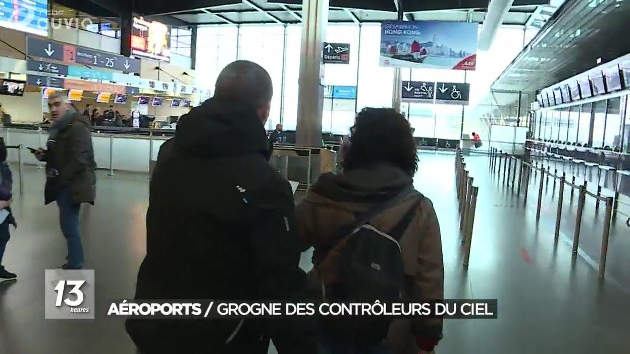 Aéroports : la grogne des contrôleurs du ciel