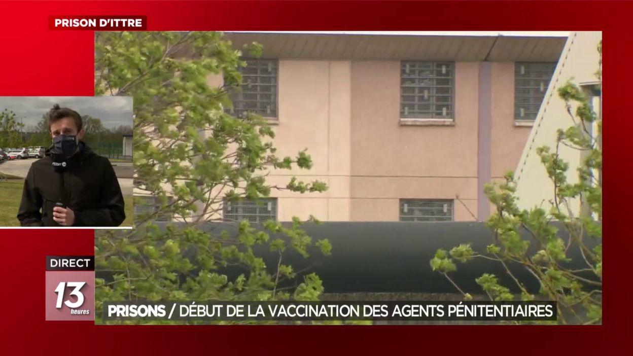 Prisons : Début de la vaccination des agents pénitentiaires