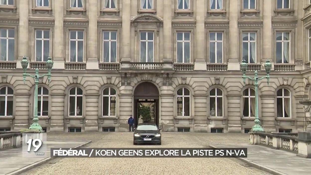 Koen Geens prolongé le chargé de mission royal continue d explorer la piste PS-N-VA