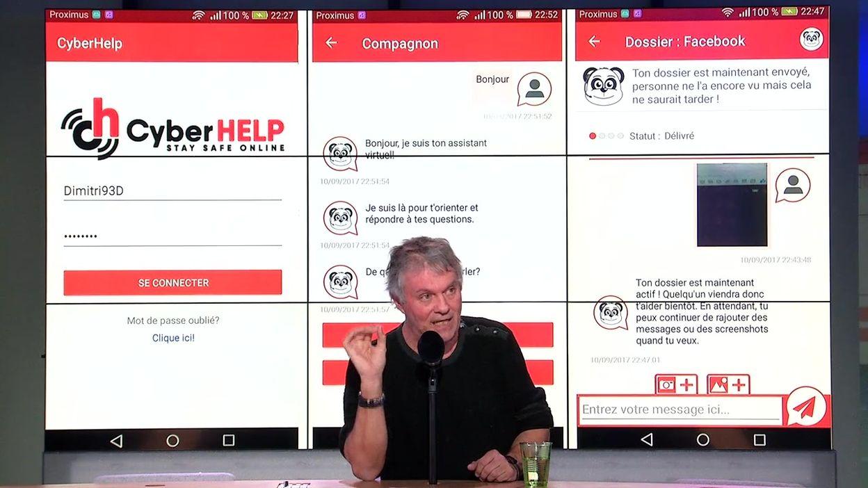 La Semaine Viva - Bruno Humbeeck sur l'harcèlement scolaire et l'application CyberHelp