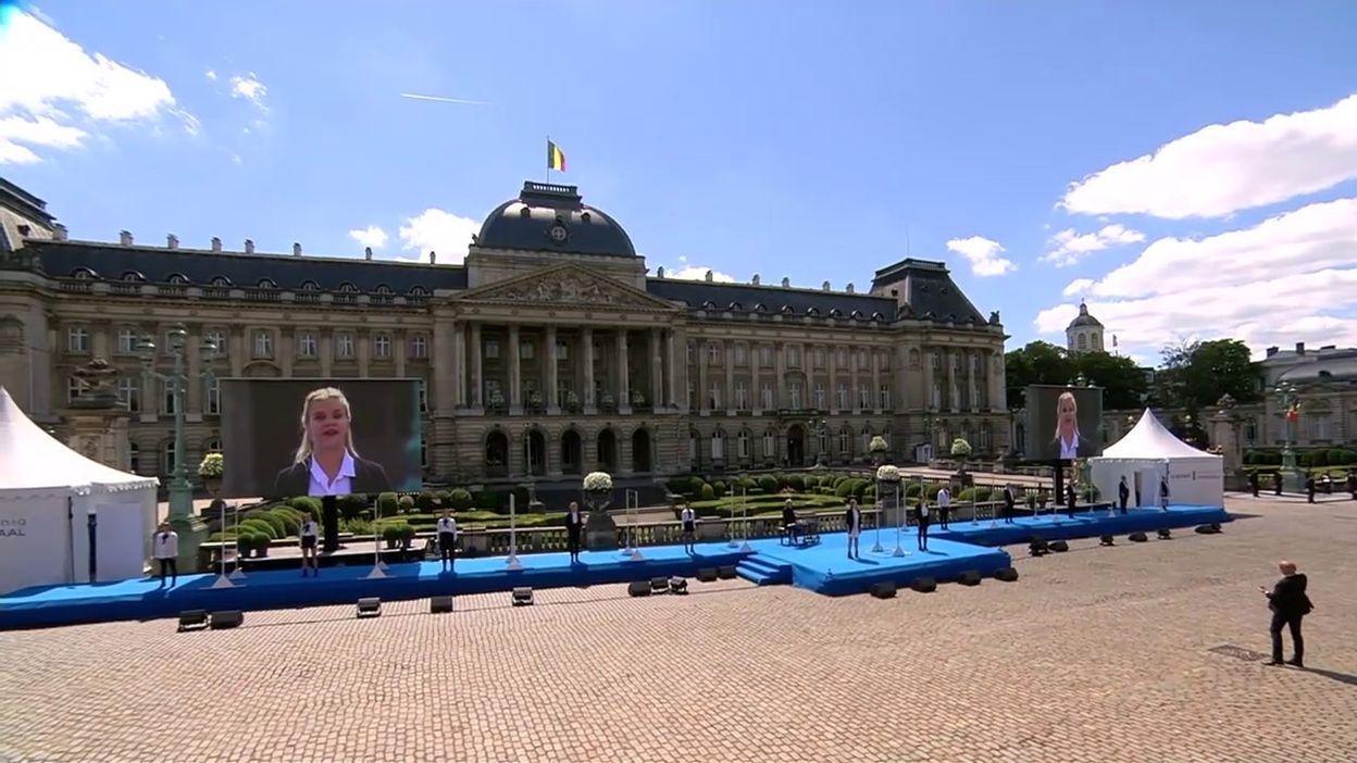 Fête nationale : la chorale belge Scala interprète