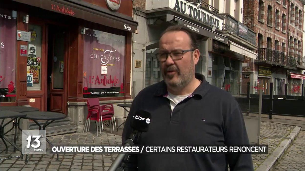 Ouverture des terrasses : Certains restaurateurs renoncent