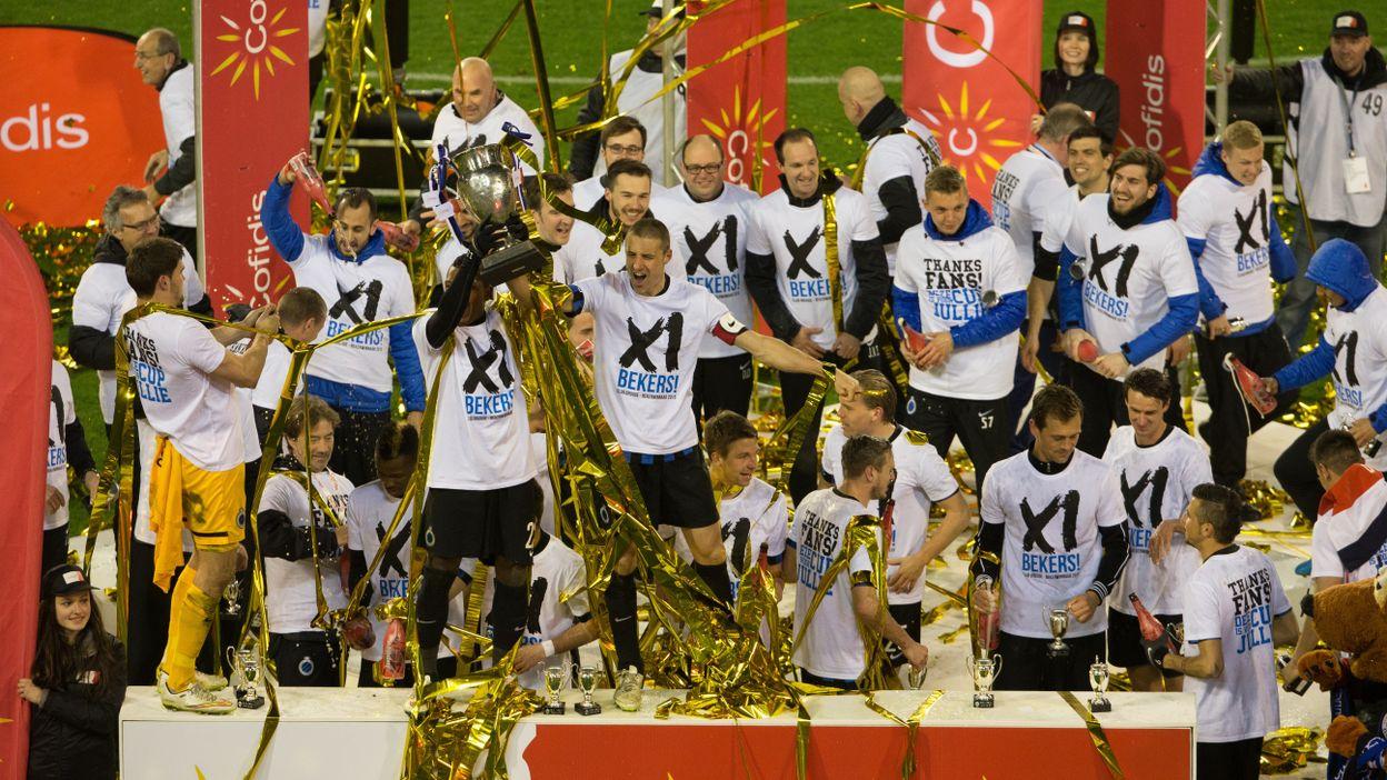Finale 2015 : FC Bruges - Anderlecht
