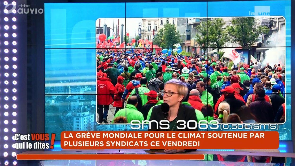 ed9206e6bda La grève mondiale pour le climat soutenue par plusieurs syndicats ce  vendredi