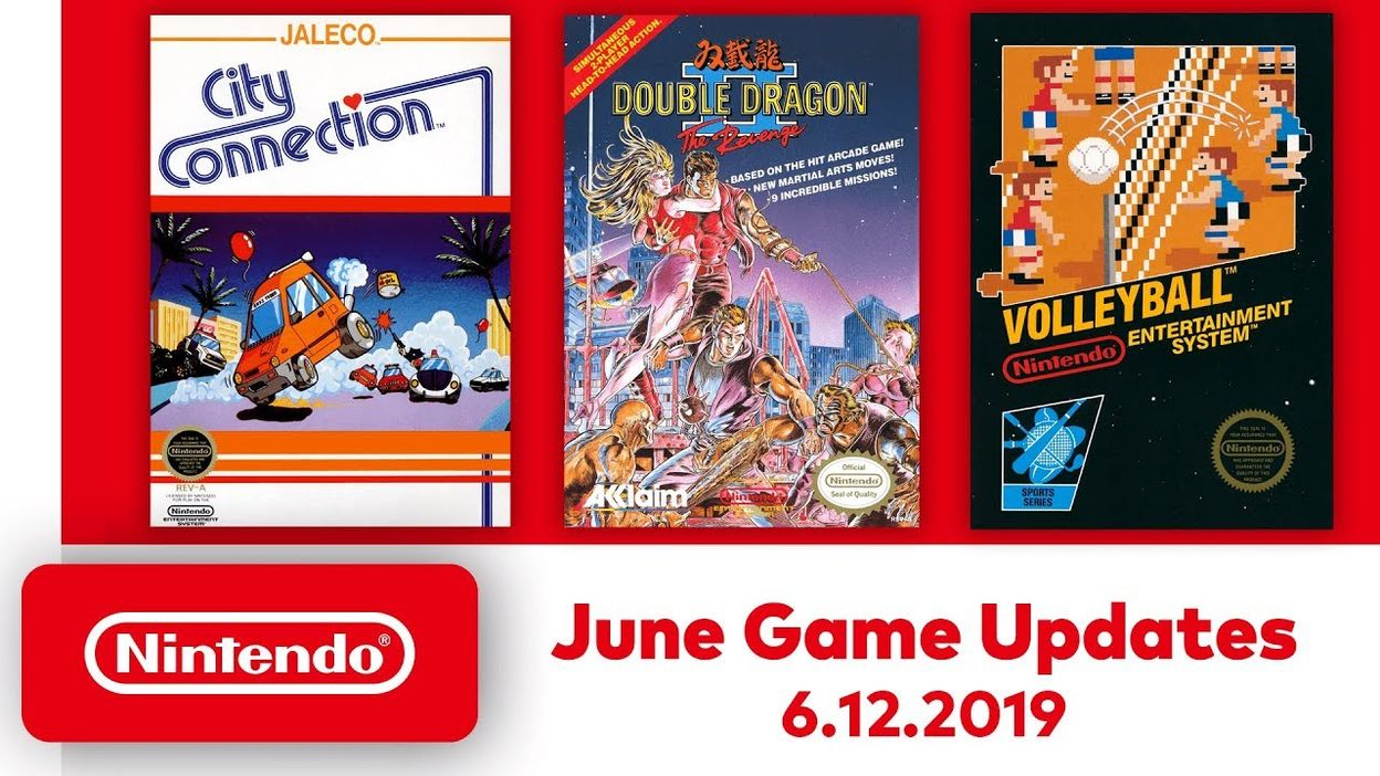 Nintendo Entertainment System - June Game Updates - Nintendo Switch Online  - 06/06/2019