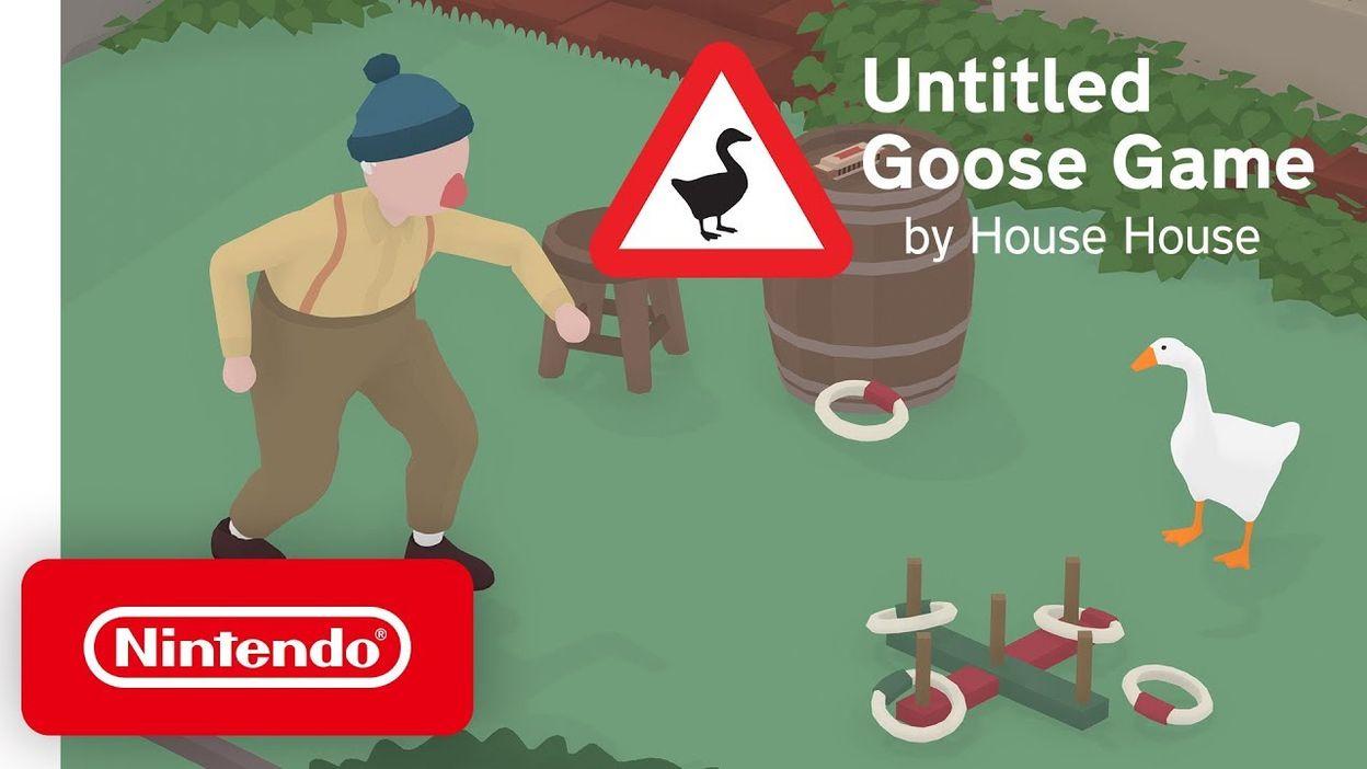 nintendo switch untitled goose game