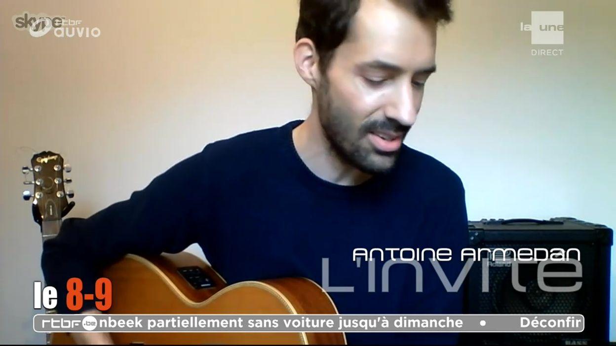 Antoine Armedan joue son single
