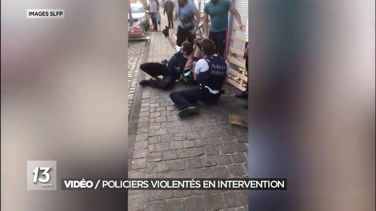 Vidéo / Policiers violentés en intervention