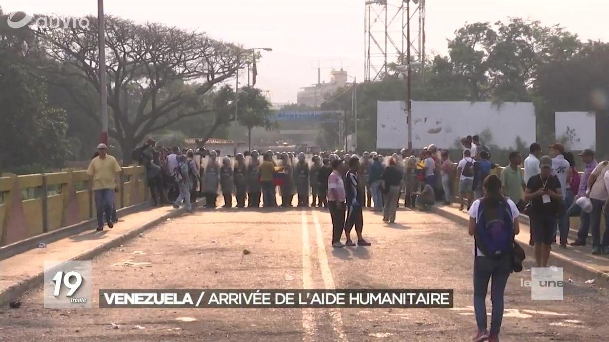 Venezuela : situation tendue à la frontière colombienne