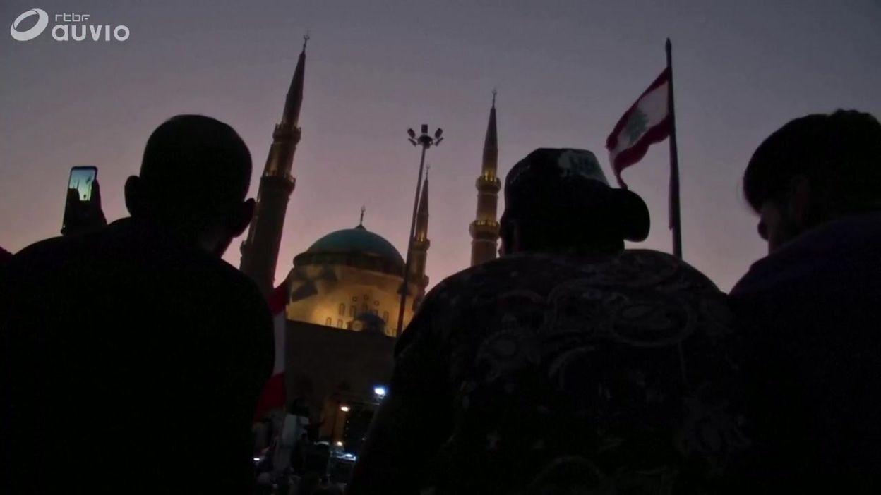 Manifestation à Tripoli, Beyrouth et Sidon, au Liban, ce 21 octobre