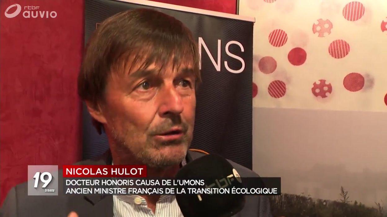 Mons : Nicolas Hulot fait Docteur Honoris Causa