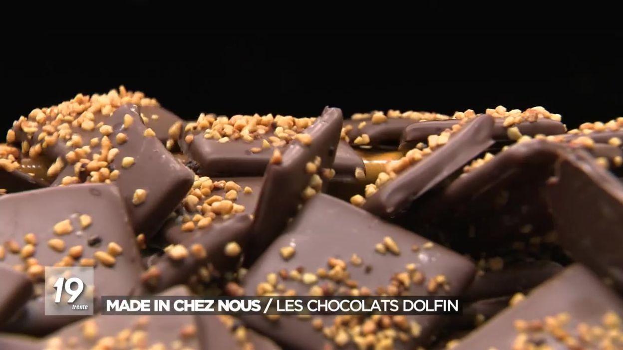 Made in Chez Nous : les chocolats Dolfin