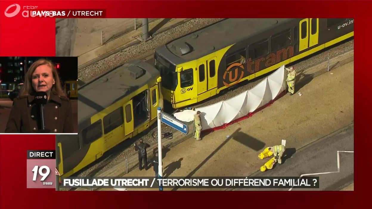 Fusillade Utrecht : terrorisme ou différend familial ?
