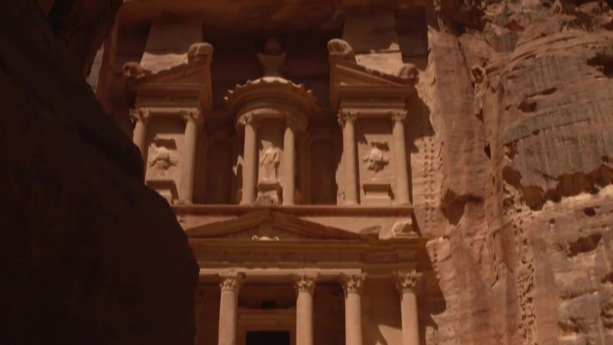 Coronavirus: le site de Petra, en Jordanie, vide, le 02 juin 2020