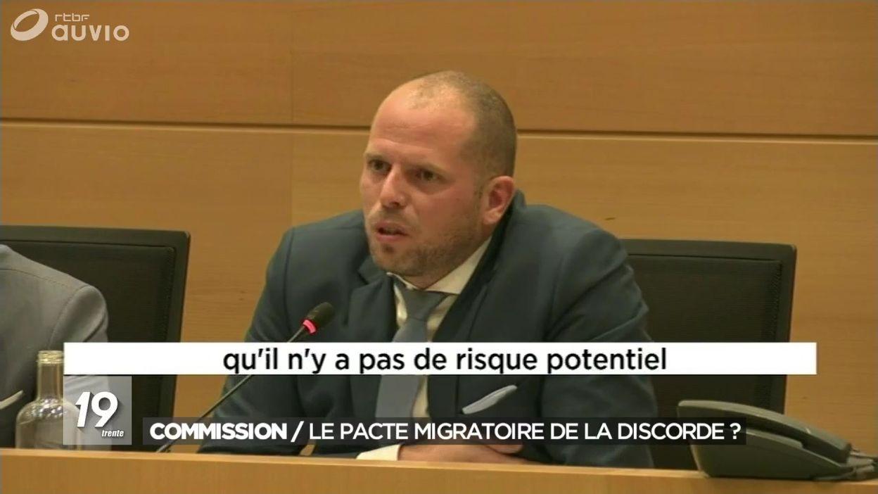 Pacte migratoire : Theo Francken s'explique en Commission