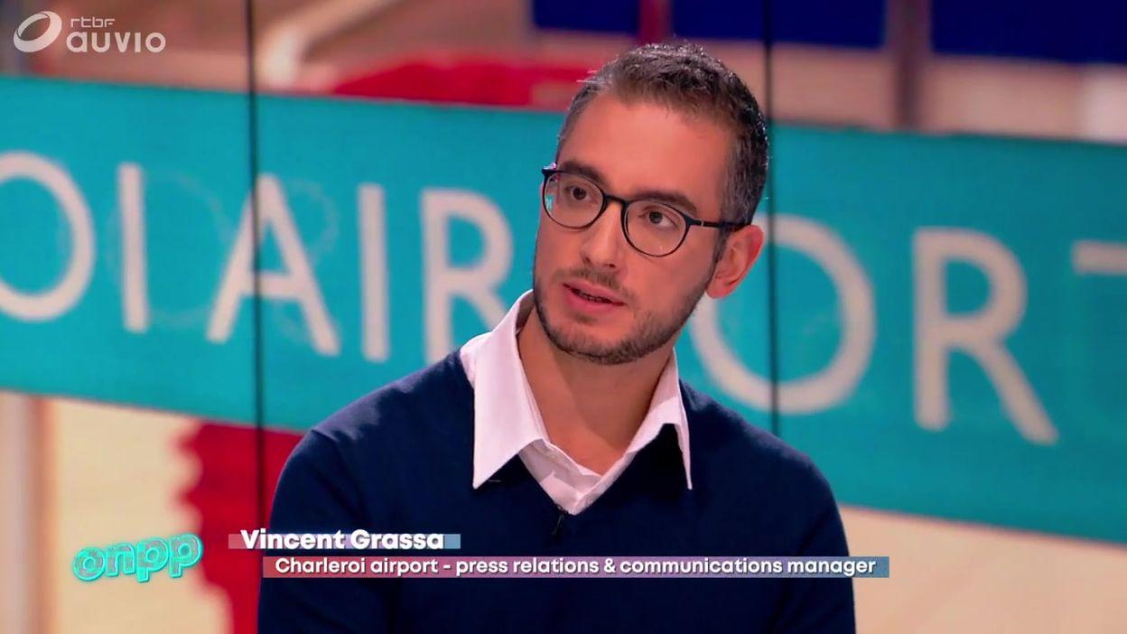 Pigeons reçoit Vincent Grassa, Press Relations & Communication Manager de Charleroi Airport