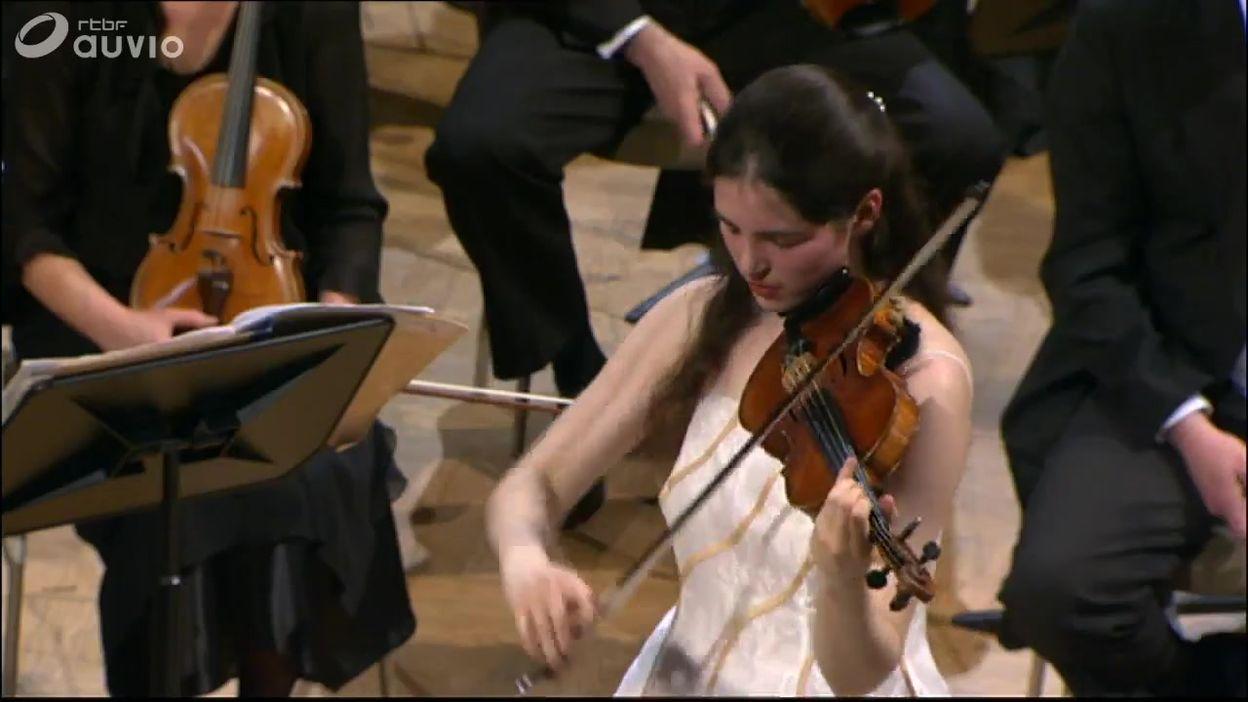 Queen Elisabeth 2005 - violon - Sophia Jaffé - Finale - Concerto n. 1 en la mineur op. 99 de Shostakovich