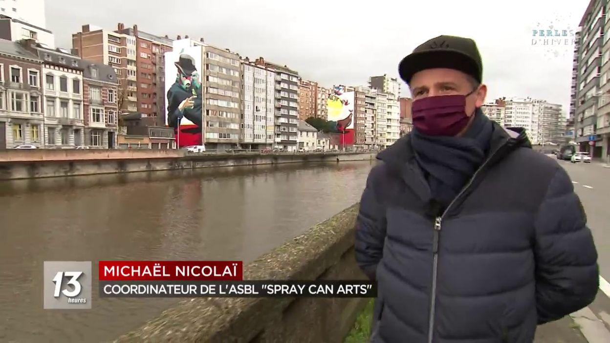 Street art à Liège : un autre regard sur la ville