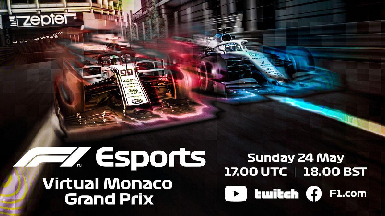 F1 eSport virtual Grand Prix