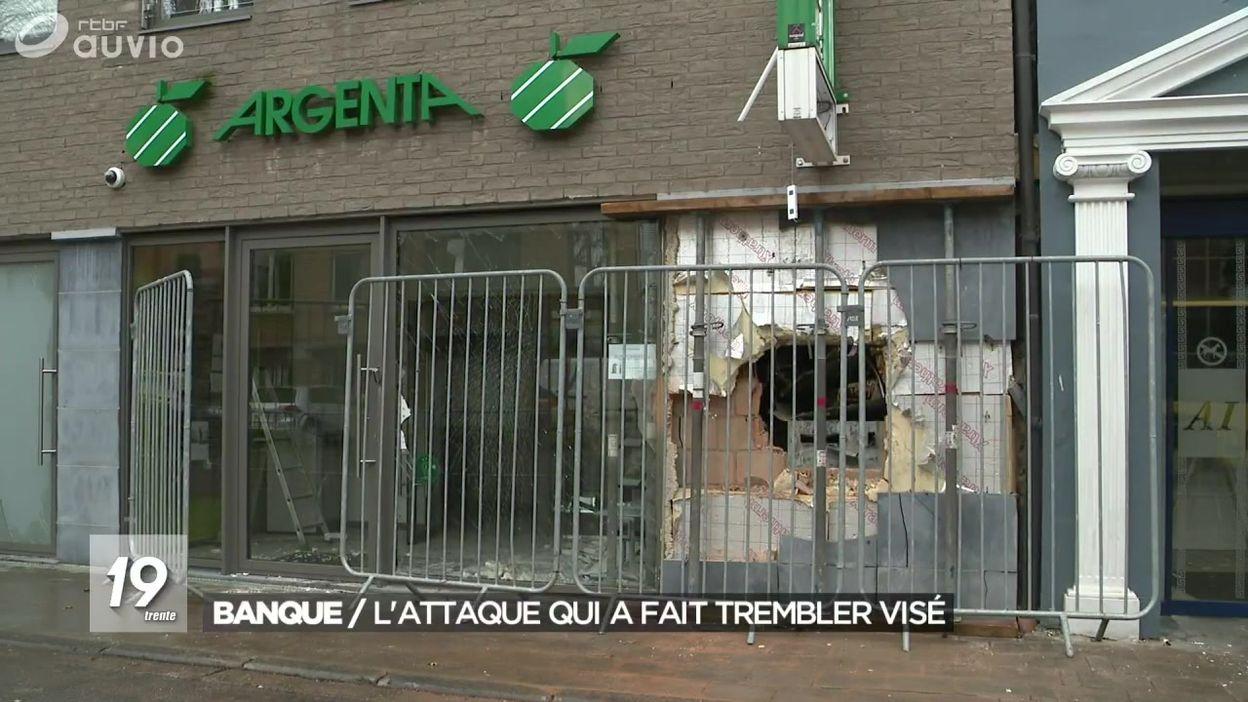 Attaque à l'explosif contre un distributeur de billets à Visé