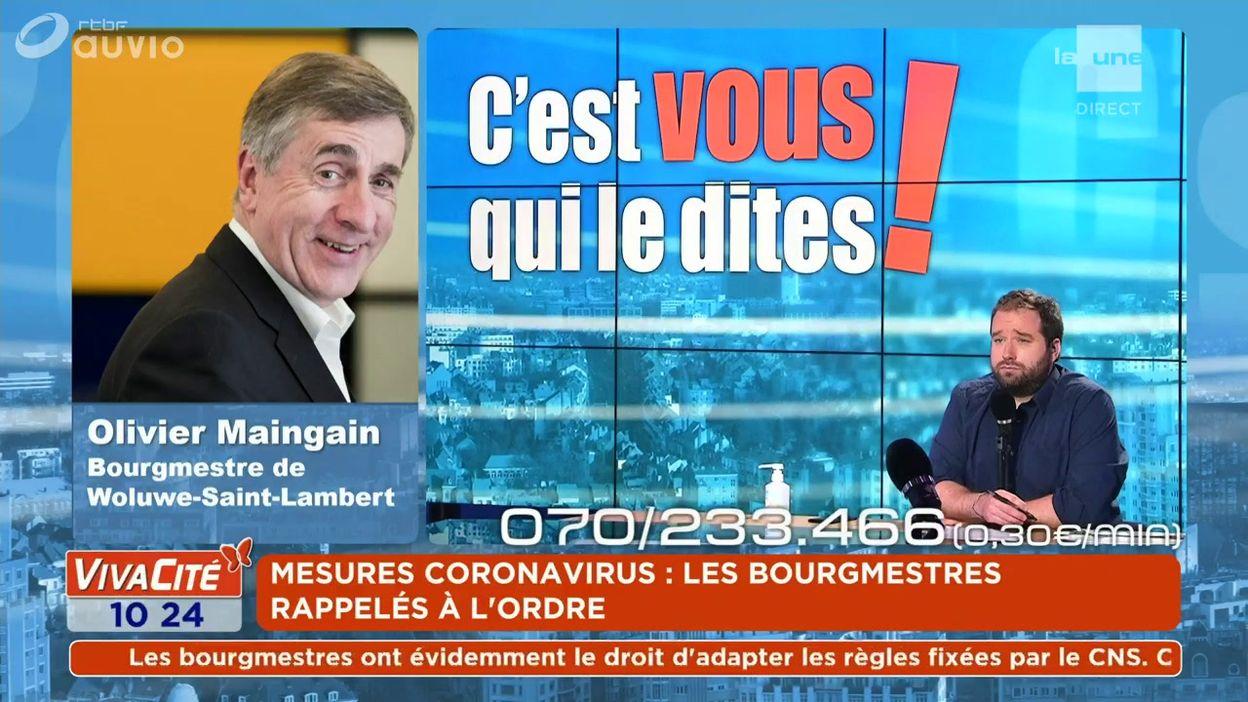 L'expert du débat : Olivier Maingain - Bourgmestre de Woluwe-Saint-Lambert