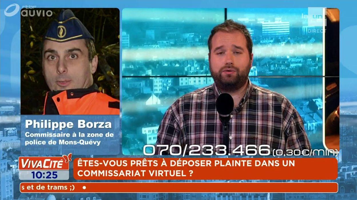 L'expert du débat : Philippe Borza - Commissaire à la zone de police de Mons-Quévy