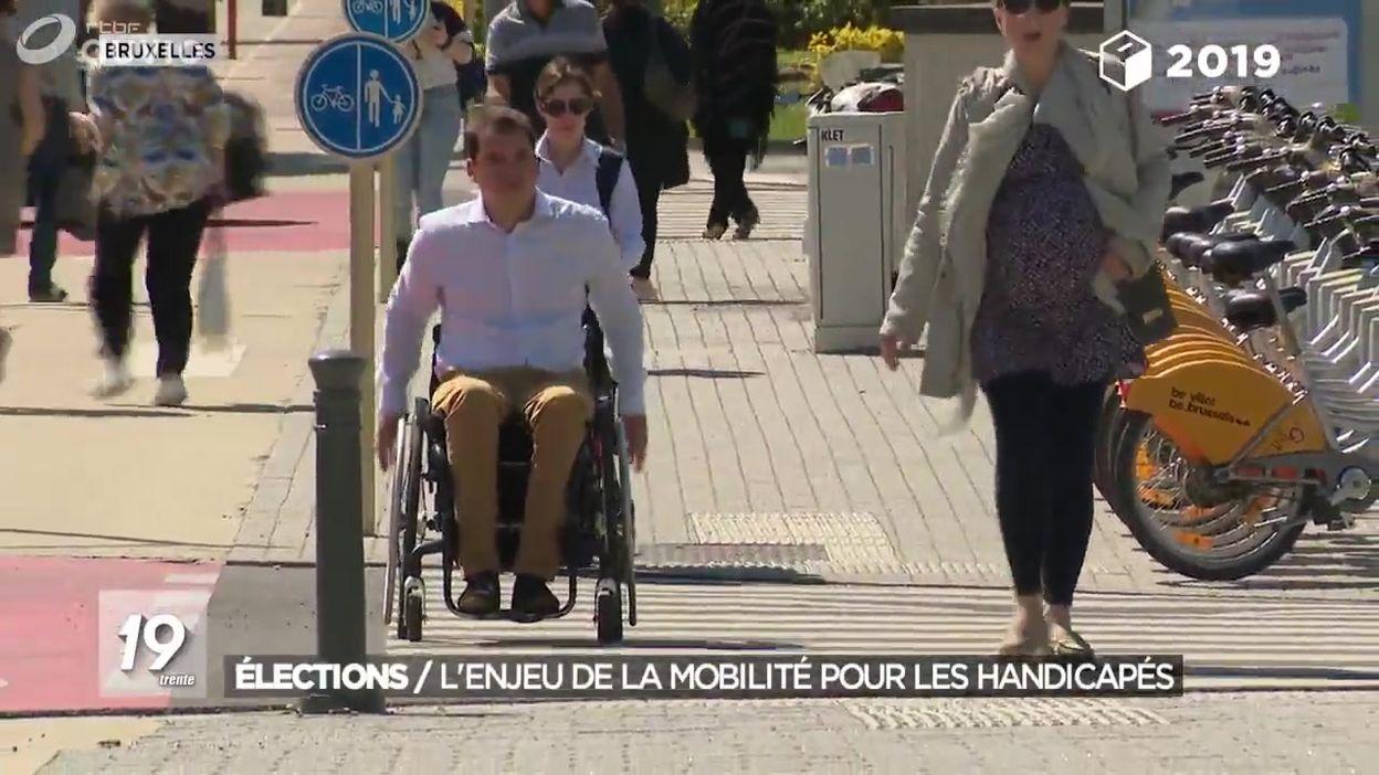 Elections : l'enjeu de la mobilité pour les handicapés
