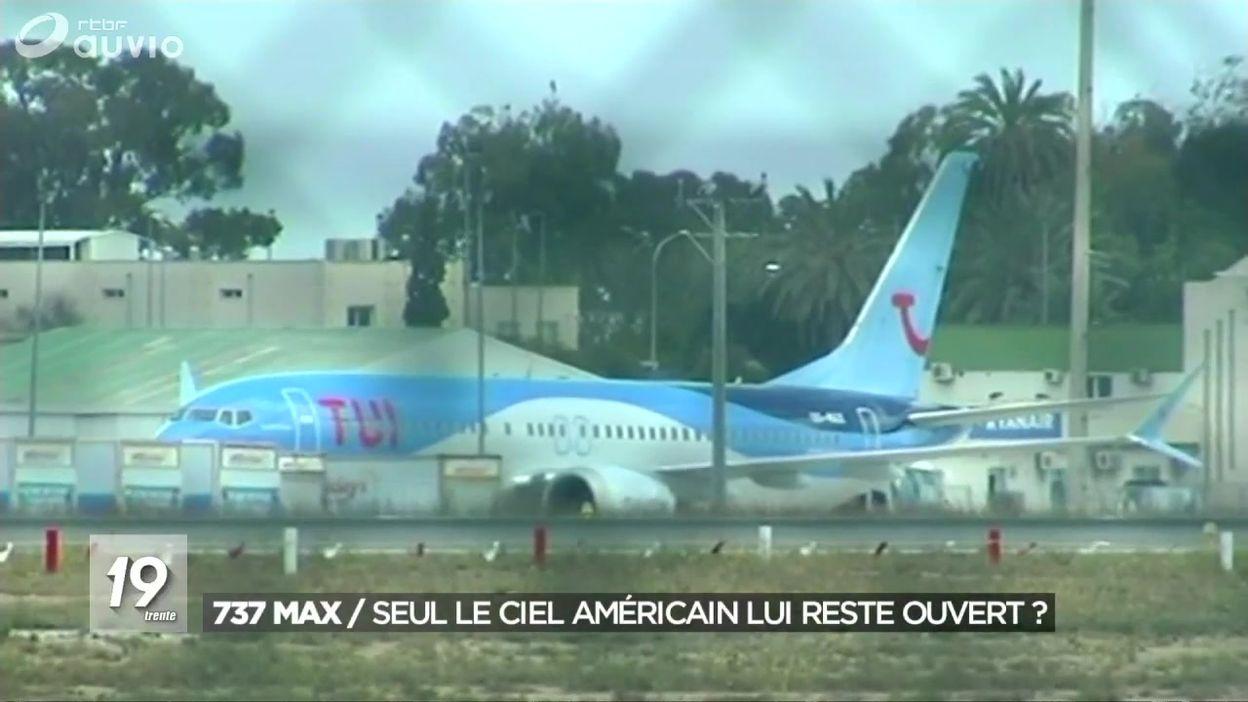 Les Etat-Unis annoncent que les Boeing 737 MAX seront cloués au sol