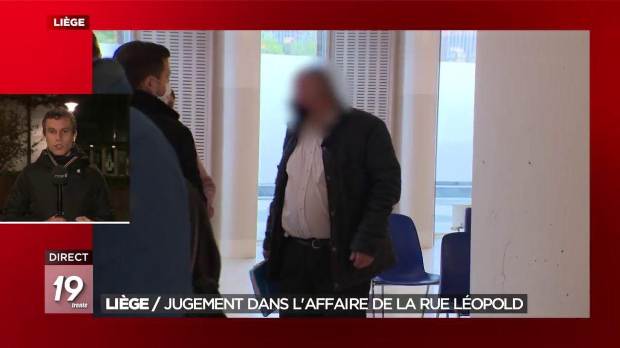 Liège : Jugement dans l affaire de la rue Léopold
