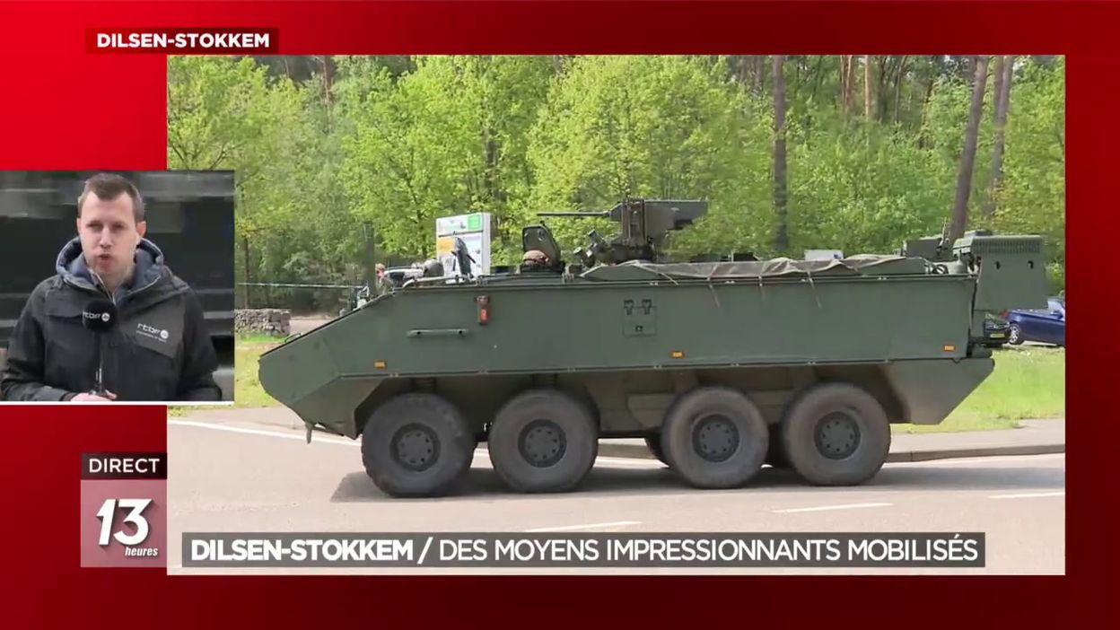 Dilsen-Stokkem : Des moyens impressionnants mobilisés