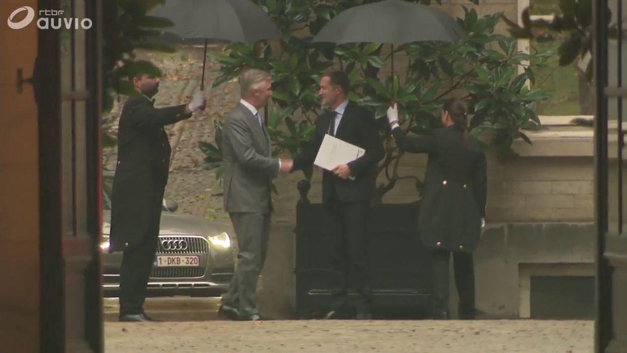 Négociations fédérales: rencontre entre le roi Philippe et Paul Magnette ce lundi 18 novembre