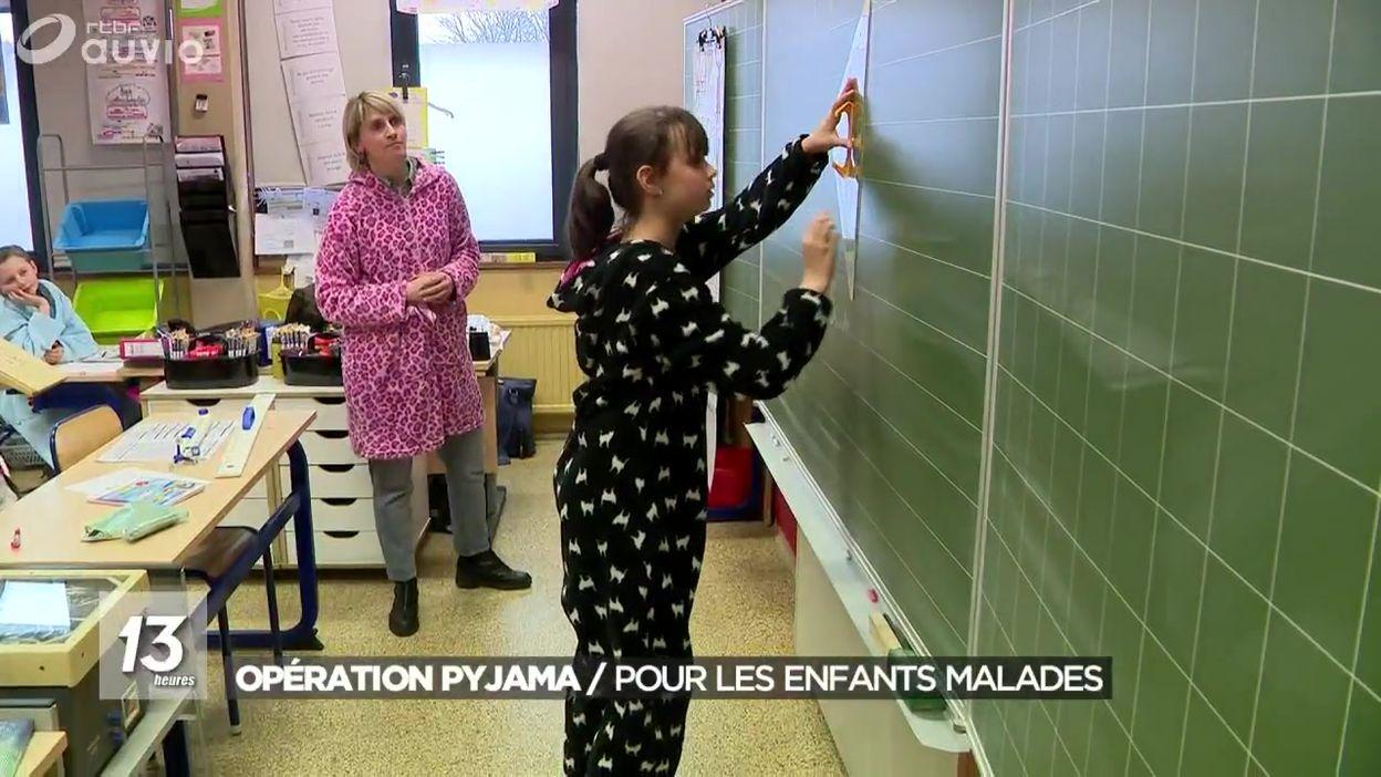 Opération pyjama : pour les enfants malades