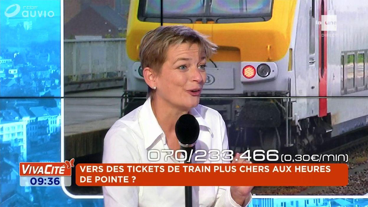 Vers des tickets de train plus chers aux heures de pointe ?