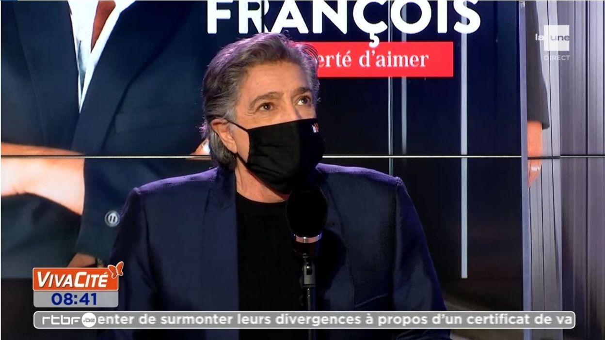 Frédéric François présente son dernier album,