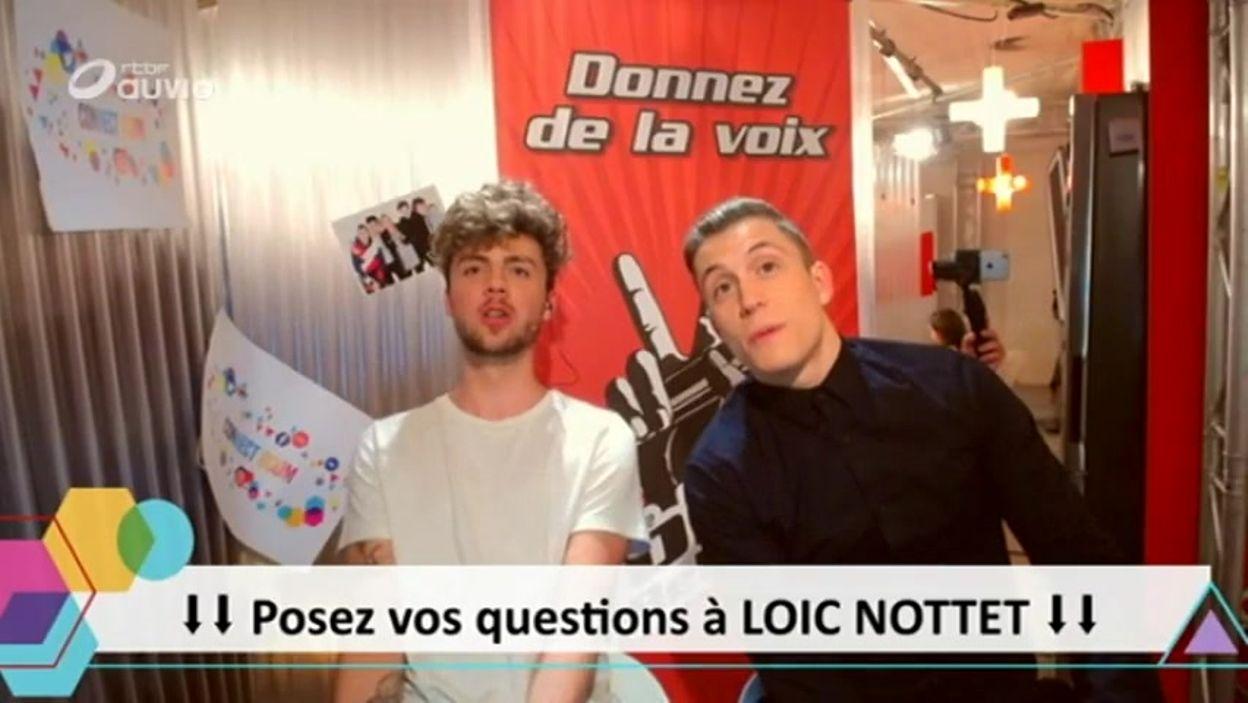 Loïc Nottet dans la Connect Room