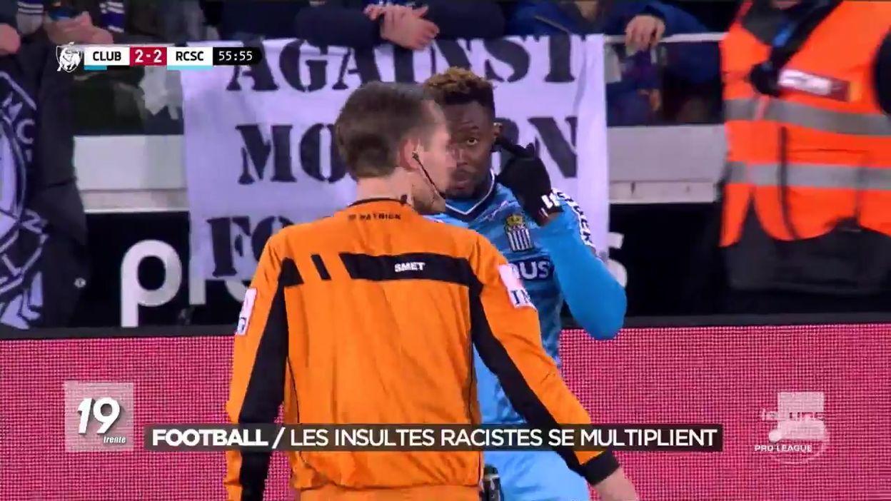 Nouveaux incidents à caractère raciste au Club de Bruges