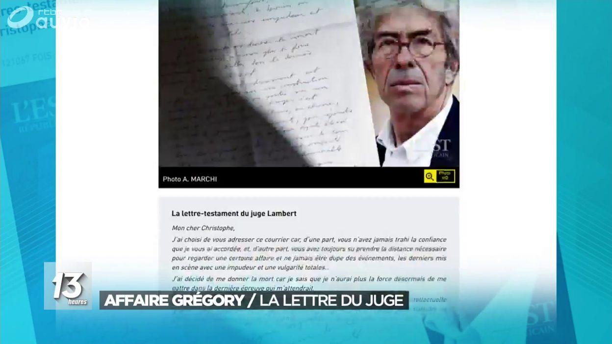Affaire Grégory : la lettre du juge avant son suicide