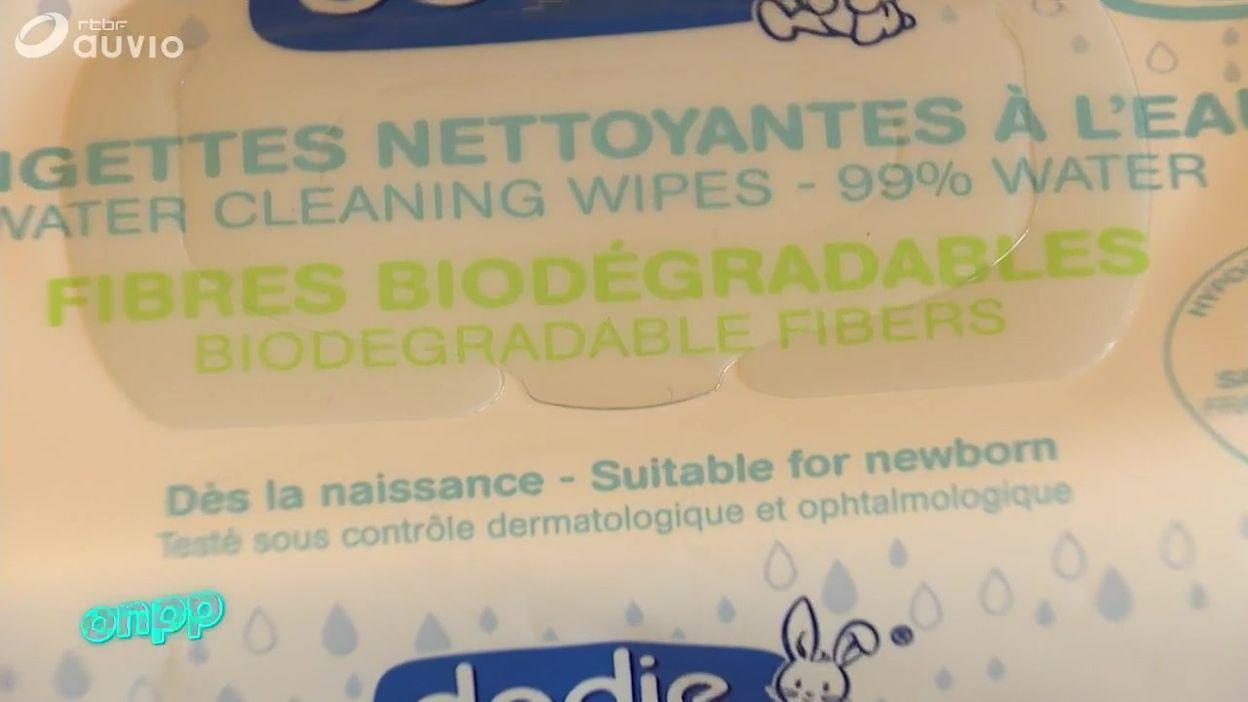 Les lingettes, trop souvent jetées à tort dans les toilettes